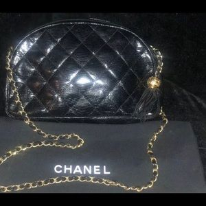 Extremely rare authentic Chanel vintage camera bag